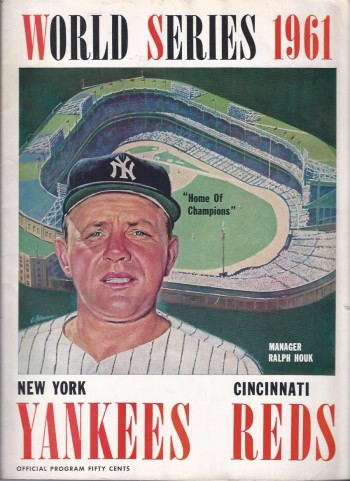 Image for 1961 World Series Program, New York Yankees vs. Cincinnati Reds
