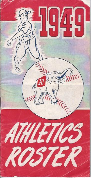 Image for Philadelphia Athletics Roster and Information Booklet, 1949 :Athletics vs. Yankees