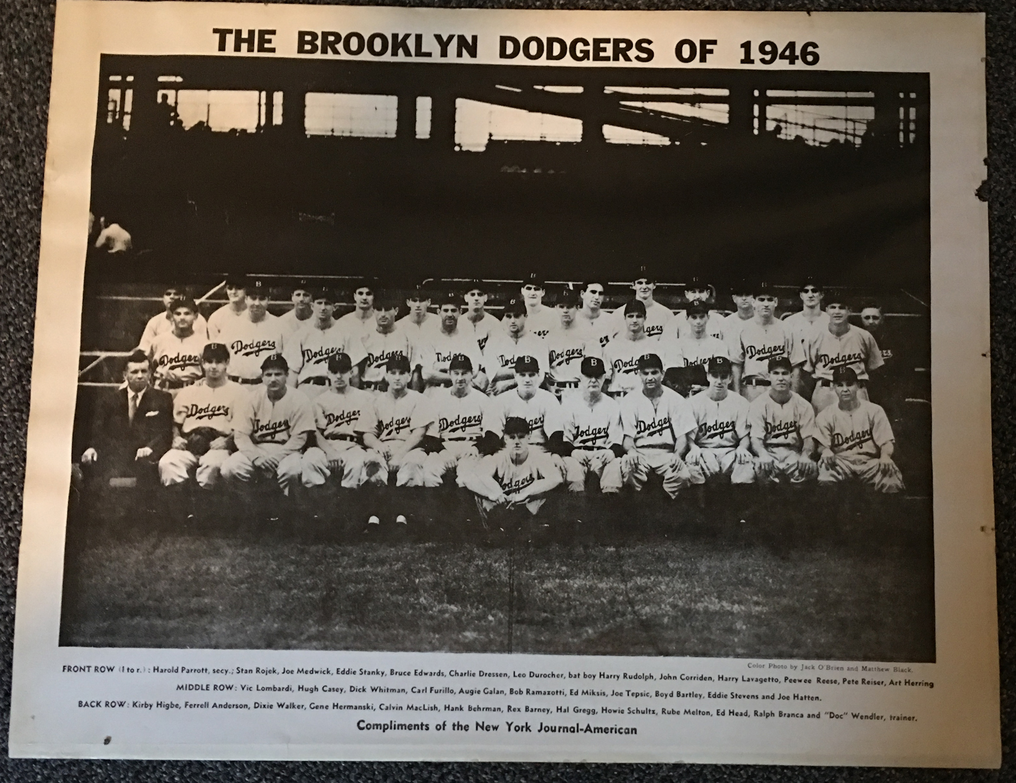 Image for The Brooklyn Dodgers of 1946