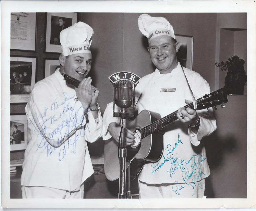 Image for Pie Plant Pete and Bashful Harmonica Joe, Autographed Photograph