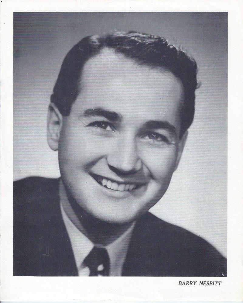 Image for Barry Nesbitt, B&W Publicity Photograph, Canada