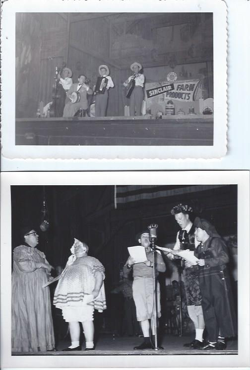 Image for Jimmy James, Two 3 1/2 X 5 B&W Publicity Photographs, in Performance on WLS Chicago