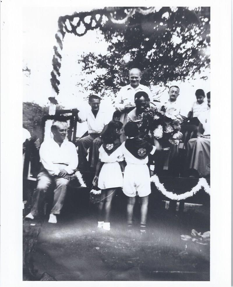 Image for Paul Robeson, Two B&W Photographs, at Camp Kinderland and World Youth Festival