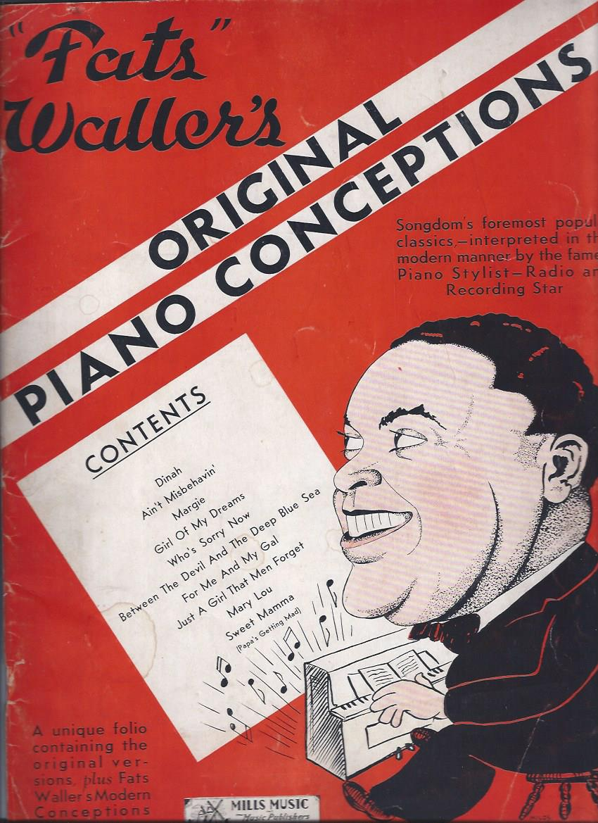 Image for Fats Waller's Original Piano Conceptions