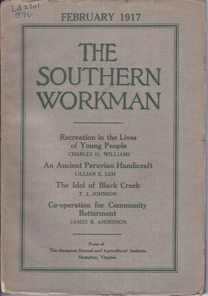 Image for The Southern Workman,  February 1917