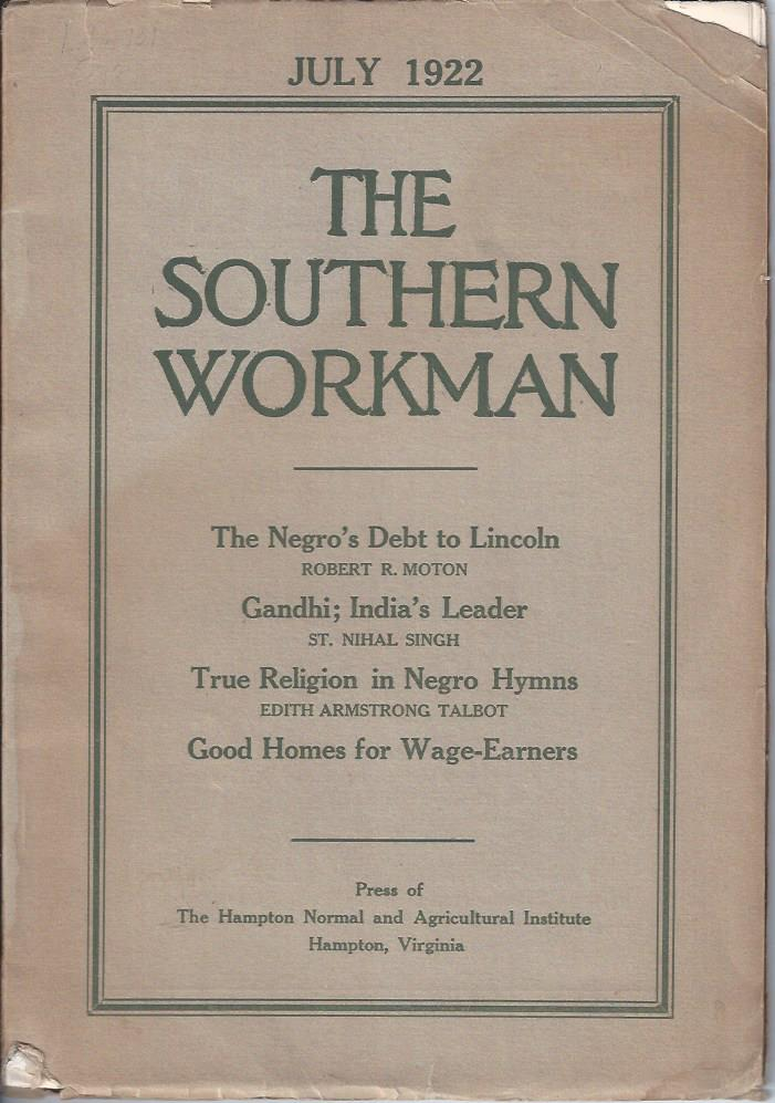 Image for The Southern Workman,  July 1922