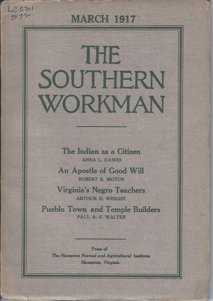 Image for The Southern Workman,  March 1917
