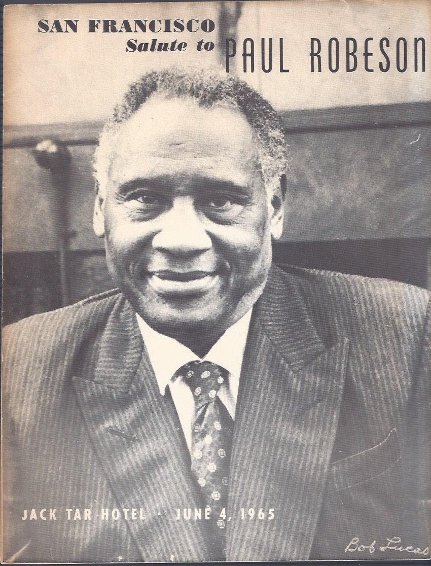 Image for San Francisco Salute to Paul Robeson Program