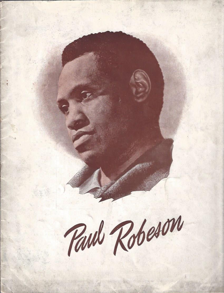 Image for Harold Fielding Presents Paul Robeson, English Recital Tour Program, 1949