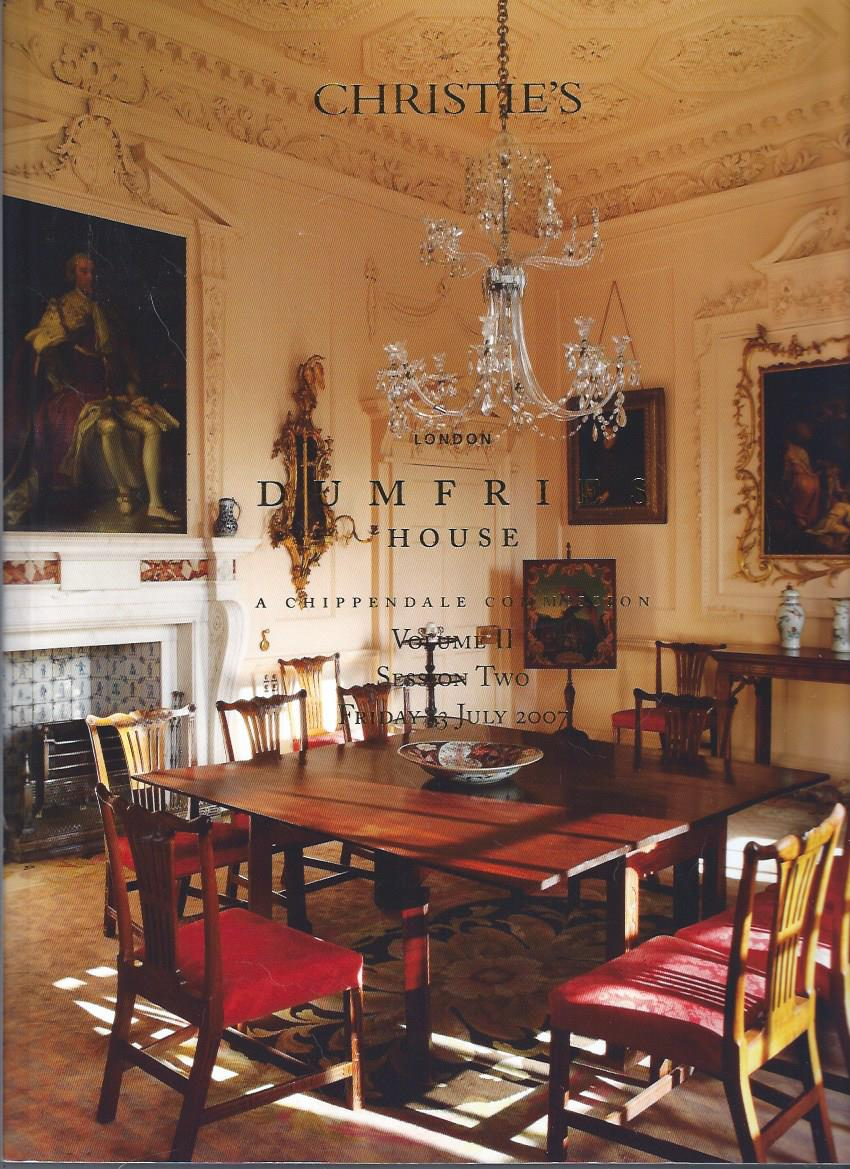 Image for Dumfries House: A Chippendale Commission, Volume I and Volume II, July 2007
