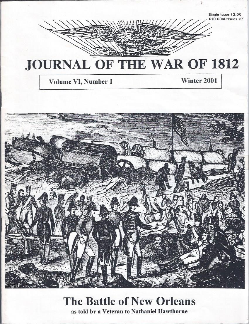 Image for Journal of the War of 1812, Volume VI Number 1, Winter 2001