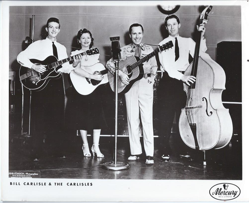 Image for Bill Carlisle & the Carlisles, Publicity Photograph