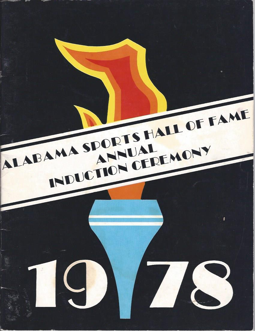 Image for The State of Alabama Sports Hall of Fame Annual Induction Ceremony 1978, Program