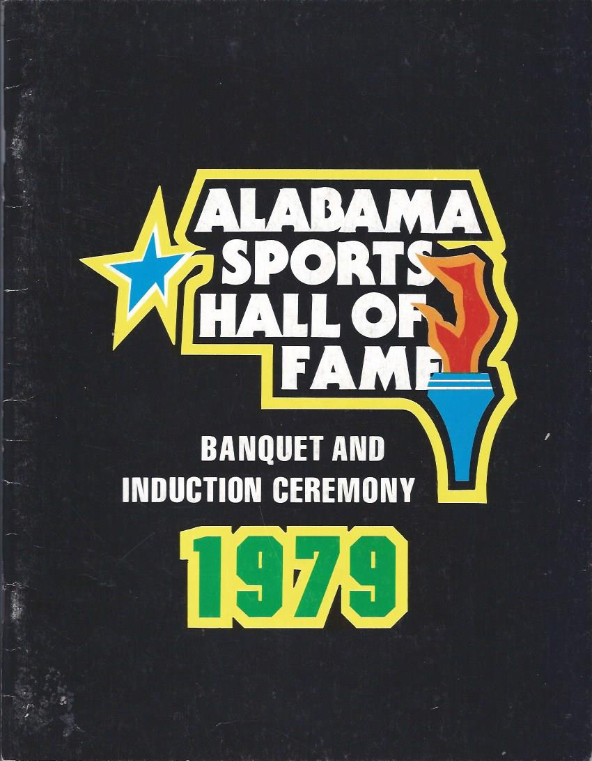 Image for The State of Alabama Sports Hall of Fame Annual Induction Ceremony 1979, Program
