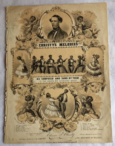 Image for Jim Crow Polka: Christy's Melodies, as Composed and Sung by Them at Their Concerts with Distinguished Success