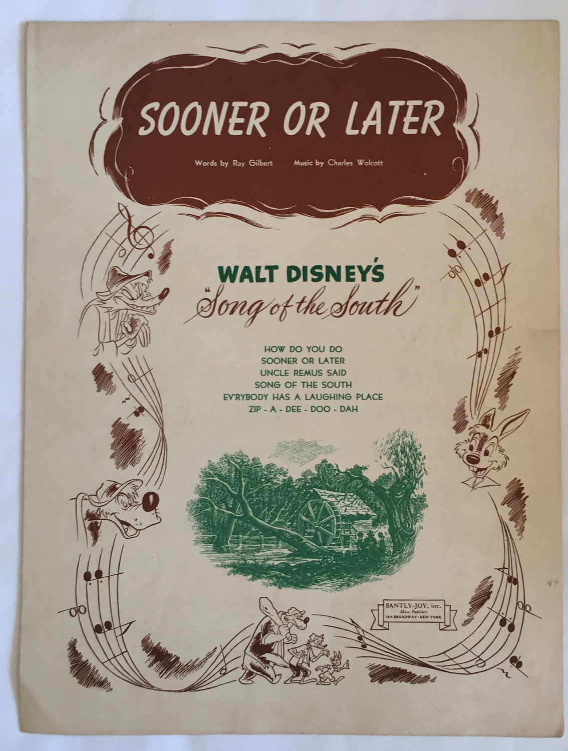 Image for Sooner or Later, Sheet Music