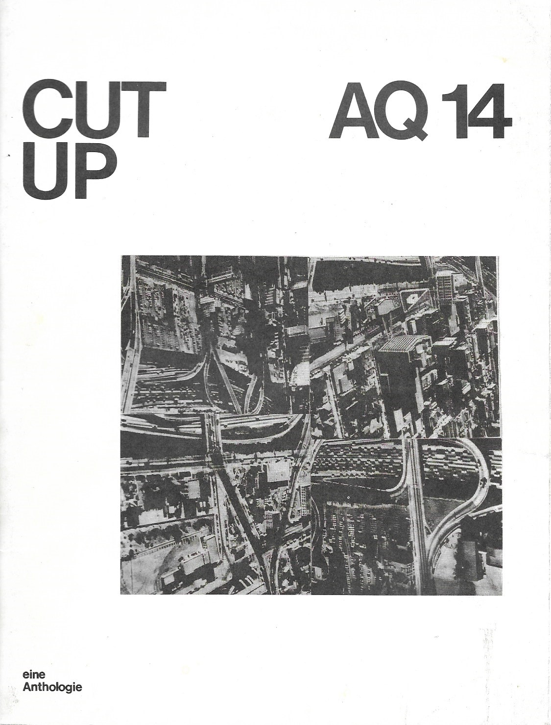 Image for Cut Up, AQ 14, Eine Anthologie
