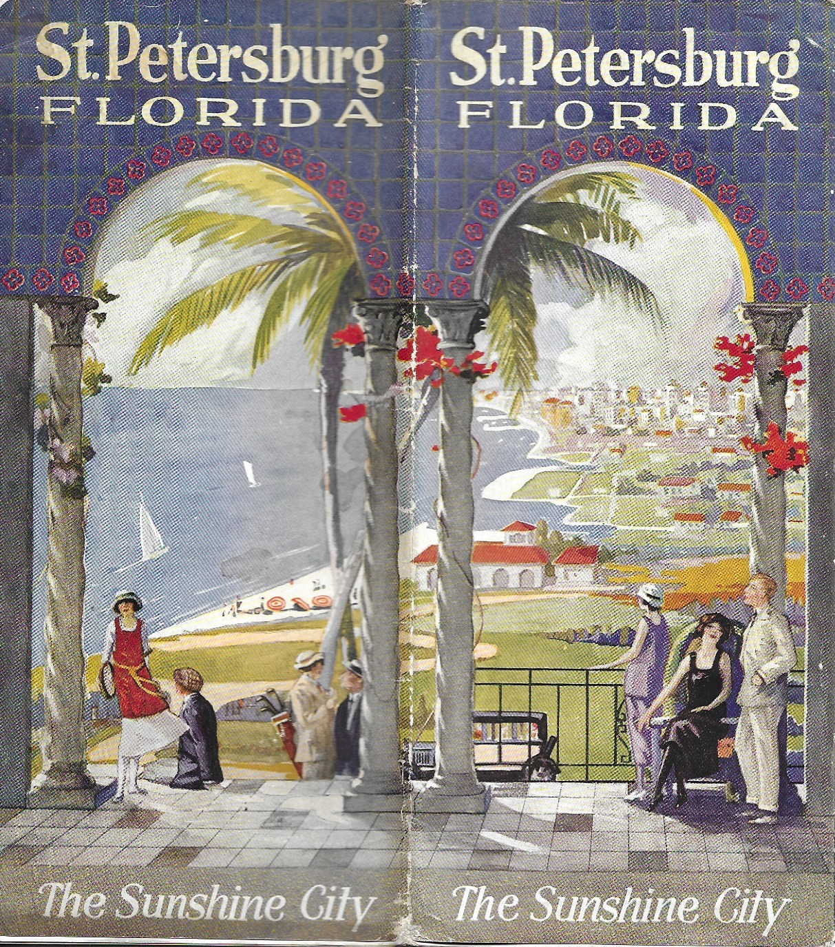 Image for St. Petersburg Florida, The Sunshine City, Tourism Brochure, 1926