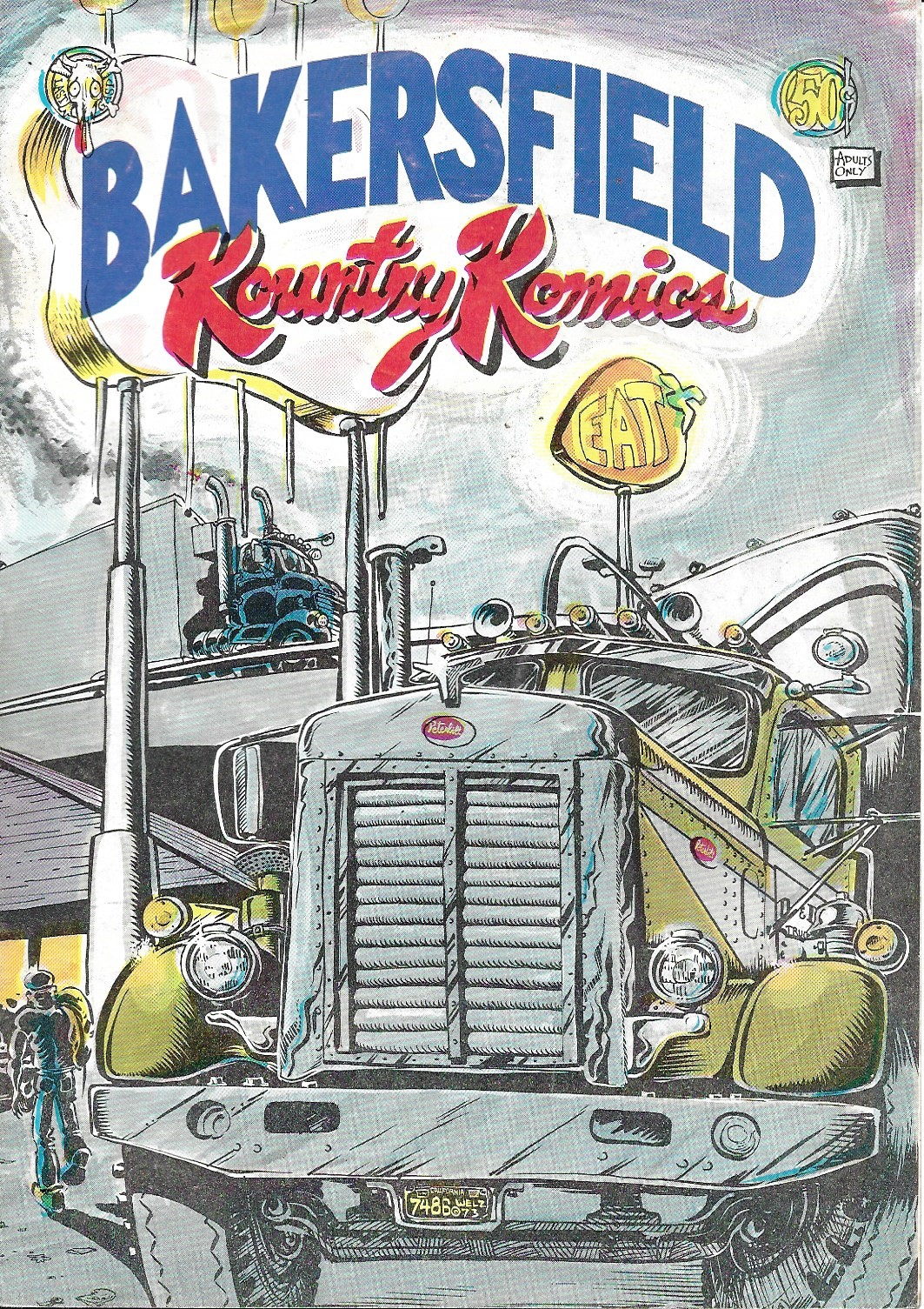 Image for Bakersfield Kountry Komics, No. 1