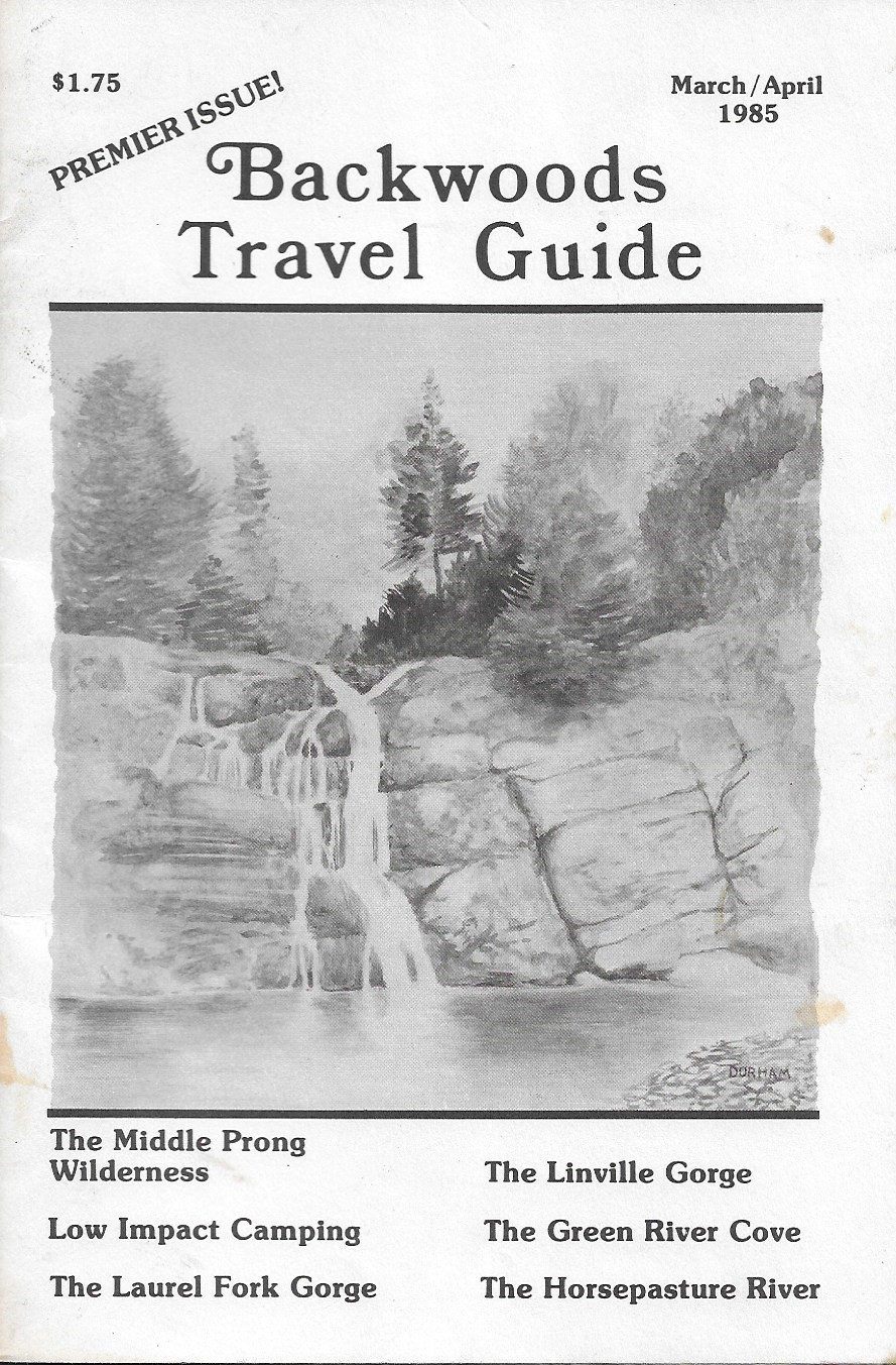 Image for Backwoods Travel Guide, March-April 1985