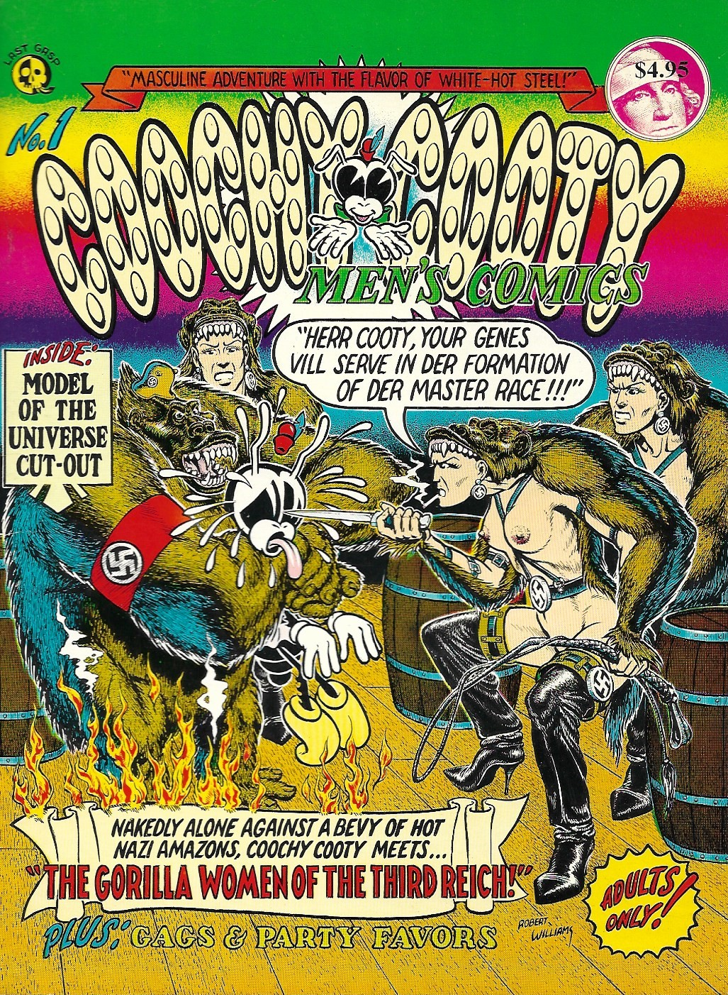 Image for Coochy Cooty Men's Comics No. 1
