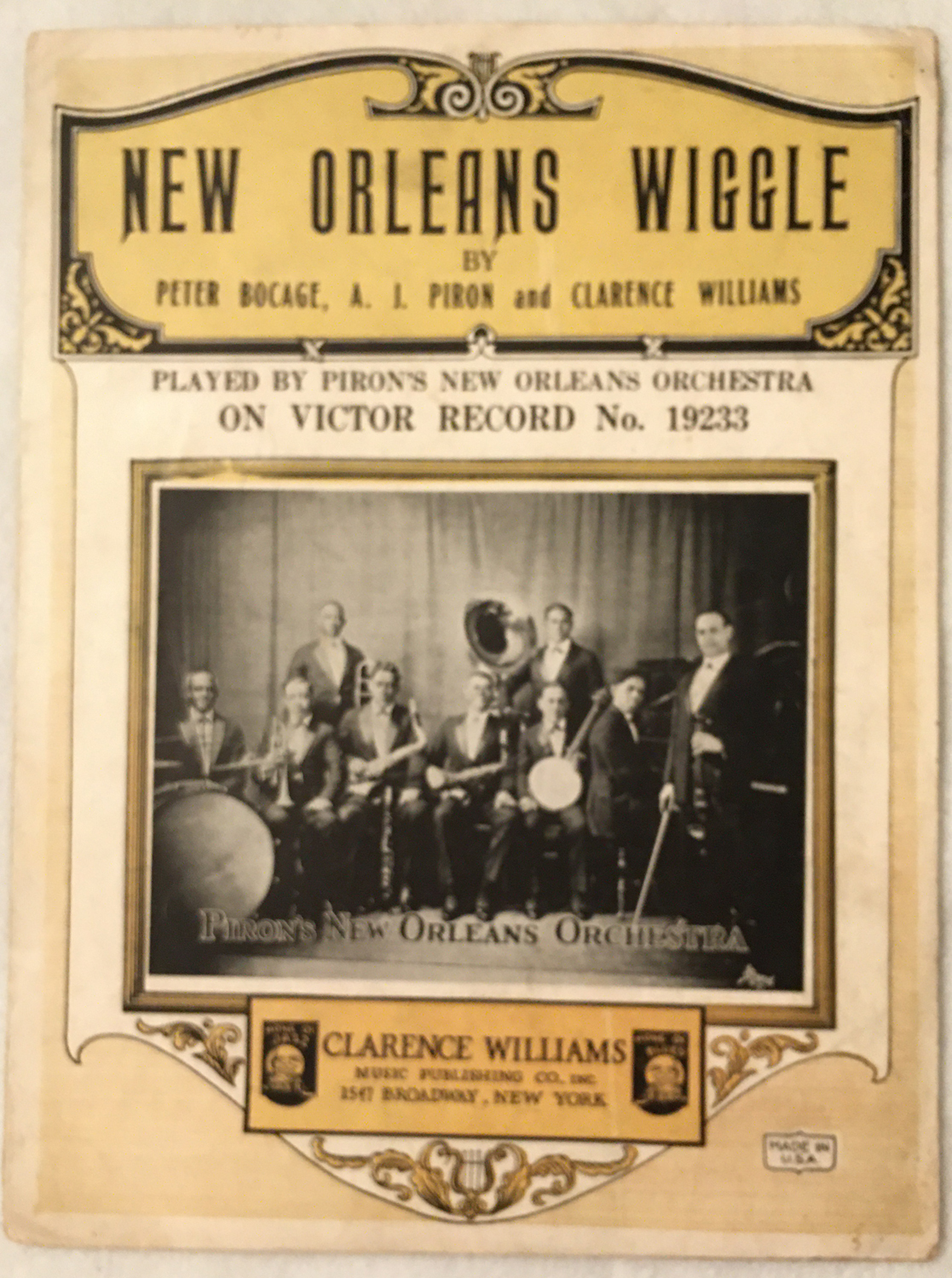 Image for New Orleans Wiggle