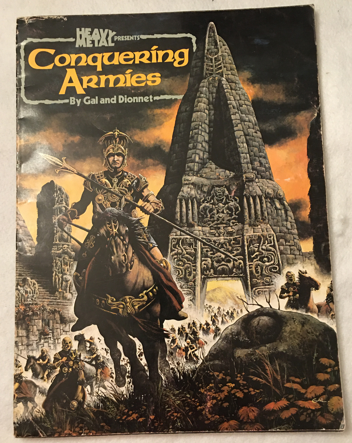 Image for Conquering Armies (Heavy Metal Presents)