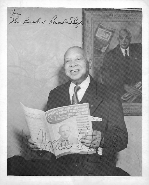 Image for W. C. Handy, Autographed Photograph