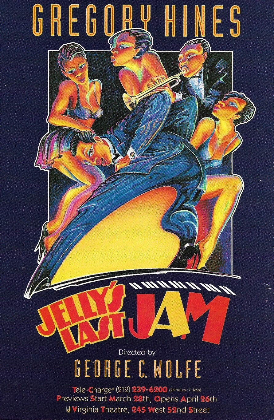 Image for Jelly's Last Jam, Starring Gregory Hines, Handbill / Poster