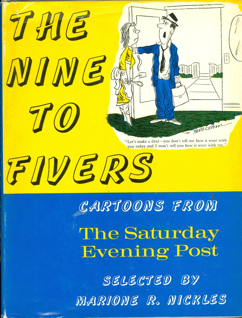 Image for The Nine To Fivers Cartoons from The Saturday Evening Post