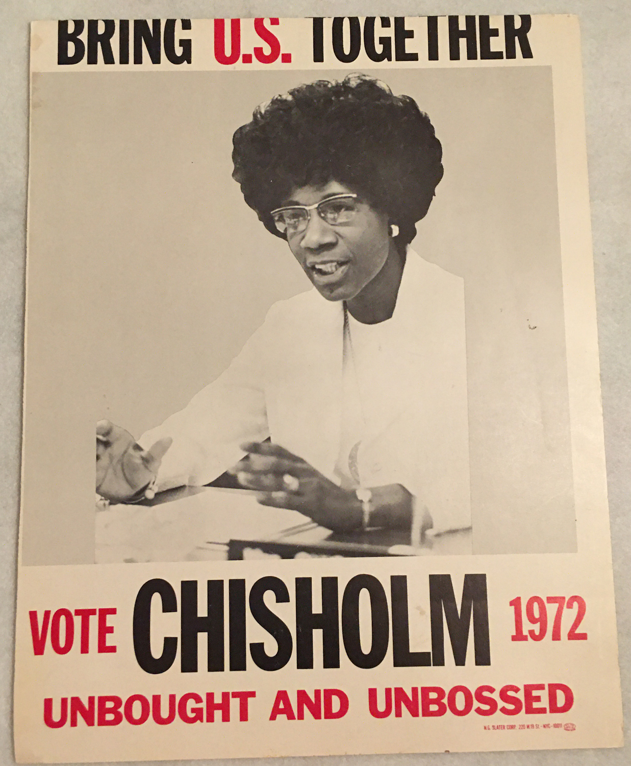 Image for Shirley Chisholm for President, Poster 1972