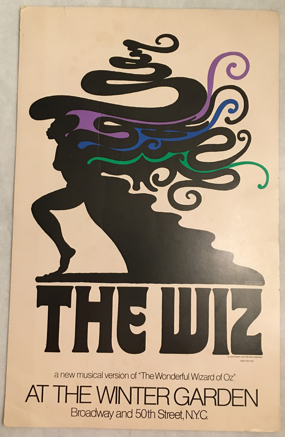 Image for The Wiz, Poster, At the Winter Garden, New York City, 1974, First Edition