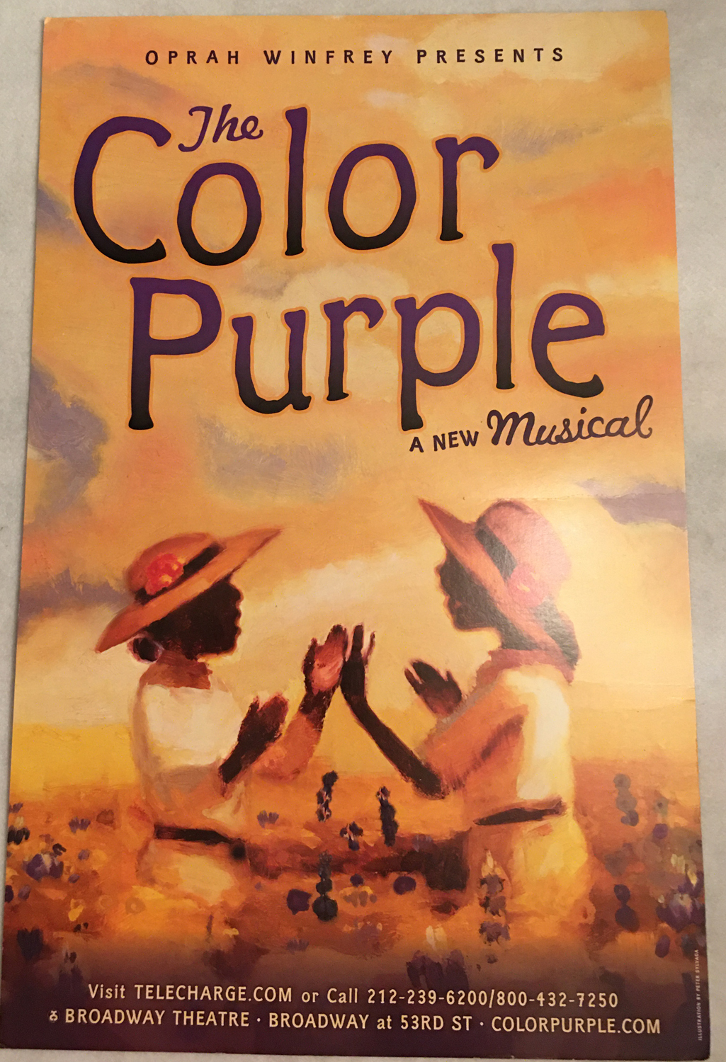 Image for The Color Purple: A New Musical, Poster
