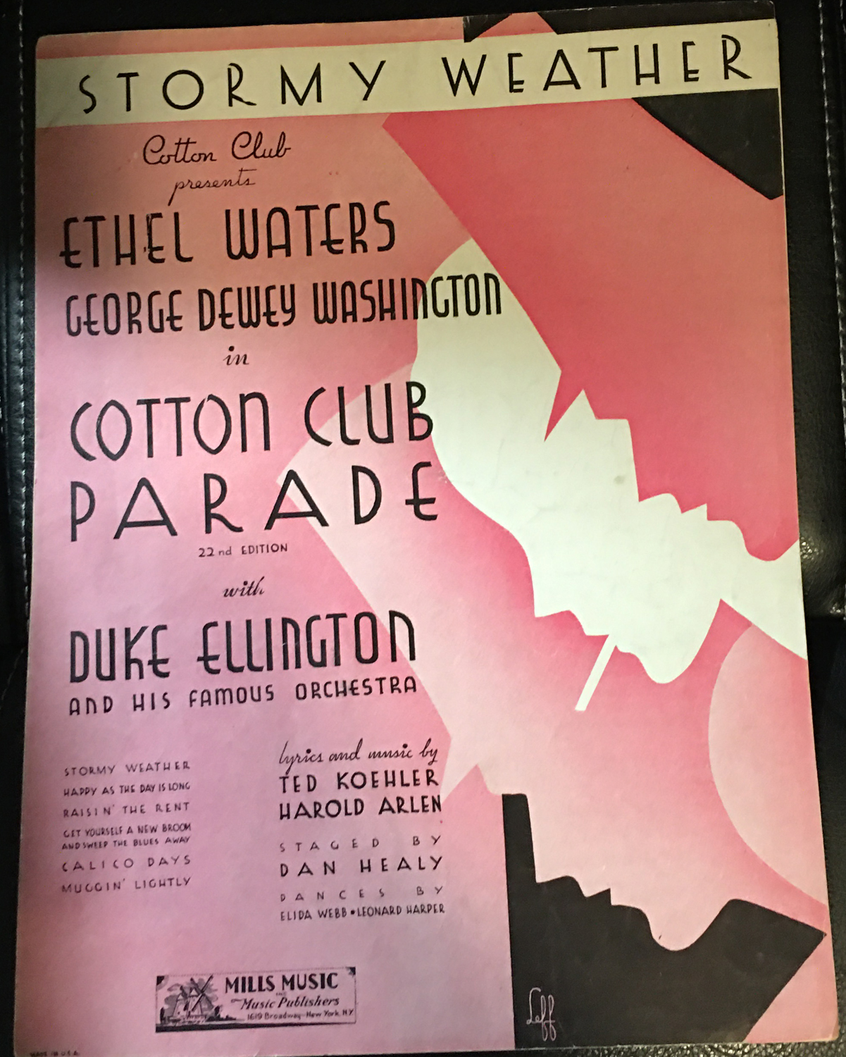 Image for Stormy Weather Cotton Club Presents Ethel Waters and George Dewey Washington in Cotton Club Parade