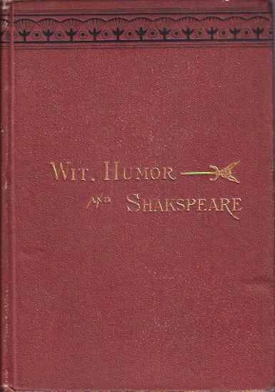 Image for Wit, Humor, and Shakespeare Twelve Essays