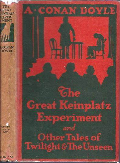 Image for The Great Keinplatz Experiment And Other Tales of Twilight & the Unseen