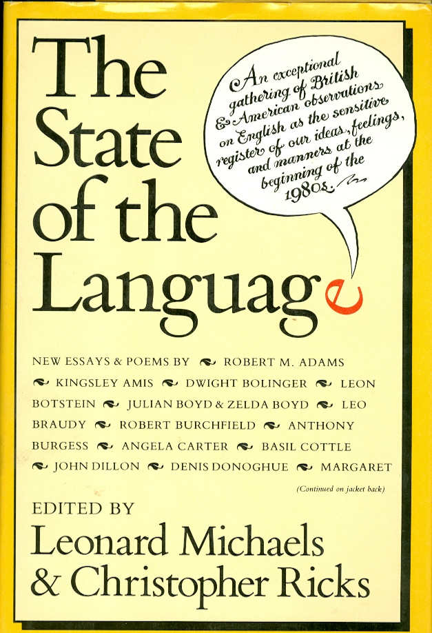 Image for The State of the Language