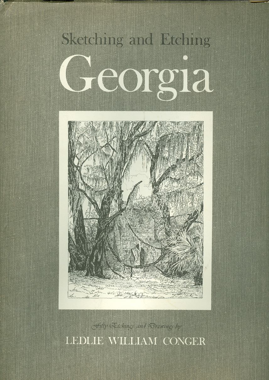Image for Sketching and Etching Georgia