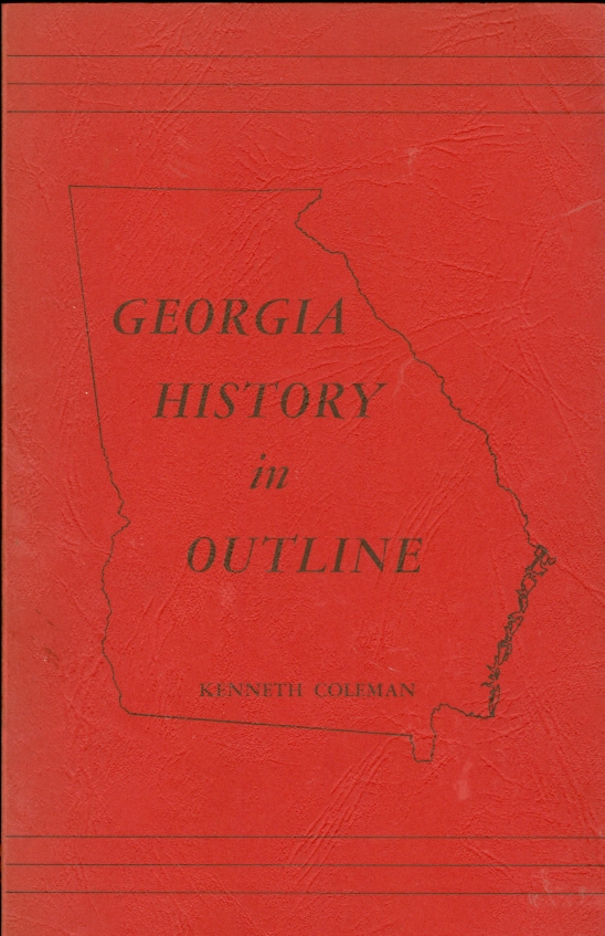 Image for Georgia History in Outline