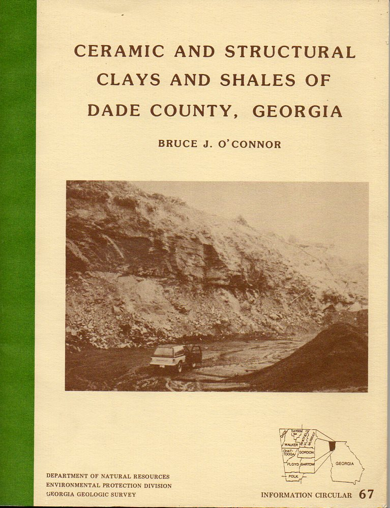 Image for Ceramic and Structural Clays and Shales of Dade County, Georgia