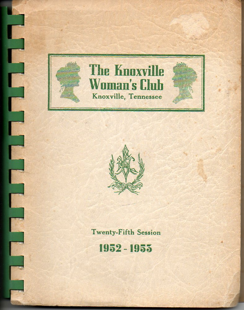 Image for Knoxville Woman's Club 1952-53