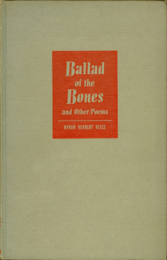 Image for Ballad of the Bones and Other Poems