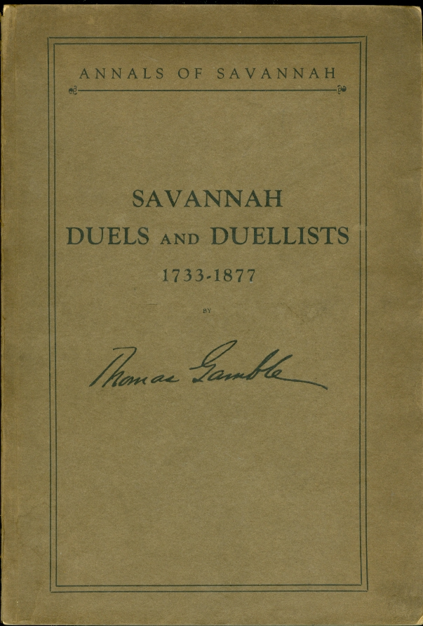 Image for Savannah Duels and Duellists
