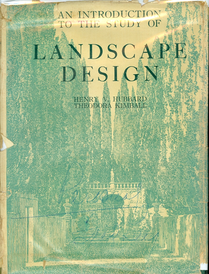 Image for An Introduction to the Study of Landscape Design