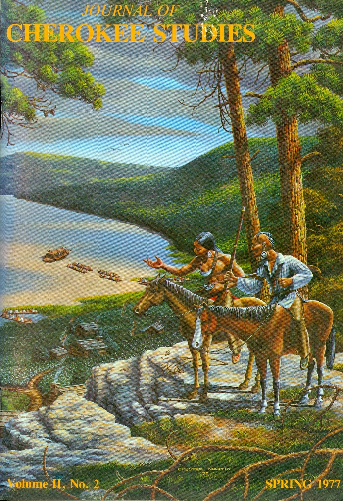 Image for Journal of Cherokee Studies