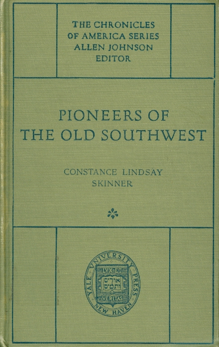 Image for Pioneers of the Old Southwest