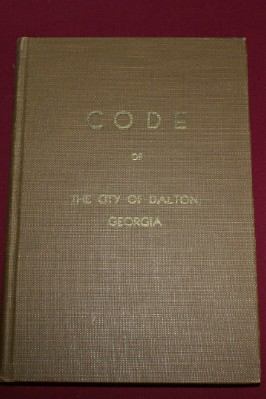 Image for Code of the City of Dalton