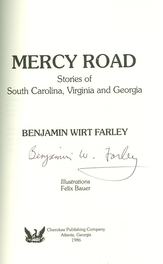 Image for Mercy Road Stories of South Carolina, Virginia and Georgia
