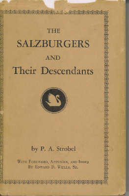 Image for The Salzburgers and Their Descendants