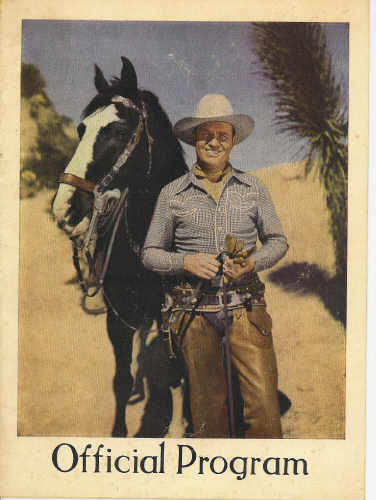 Image for Gene Autry's Flyin' a Ranch Stampede Official Program